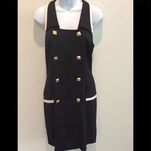 VINTAGE DOUBLE BREASTED NAUTICAL  DRESS SIZE 13/14